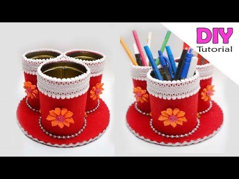 Ide Kreatif Kaleng Bekas Rokok Jadi Tempat Pensil Kaleng Bekas Kreatif Kerajinan Tangan Youtube Tempat Pensil Ide Kerajinan Kreatif