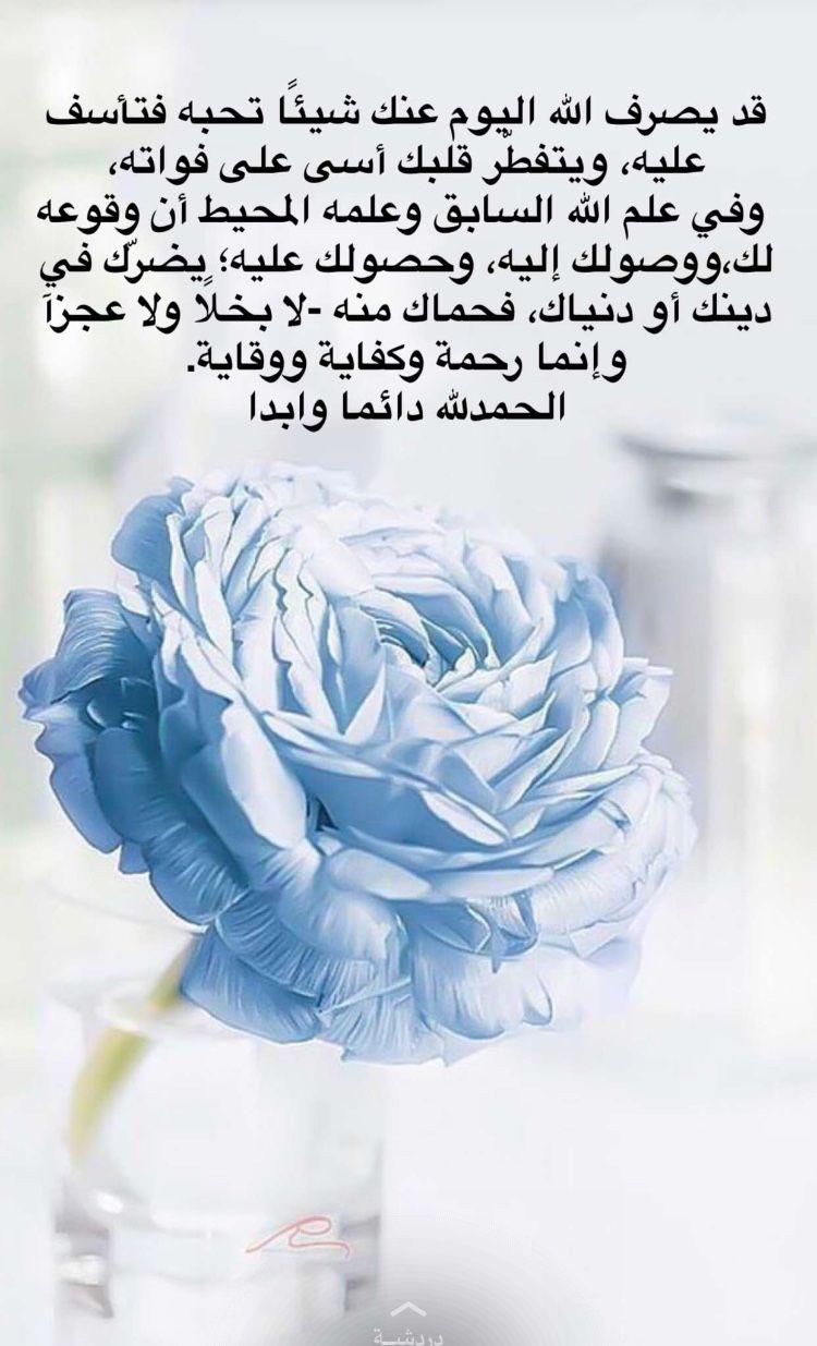 اللهم الف حمد وشكر على نعمة الرضا بقضاءك Arabic Words Qoutes Words