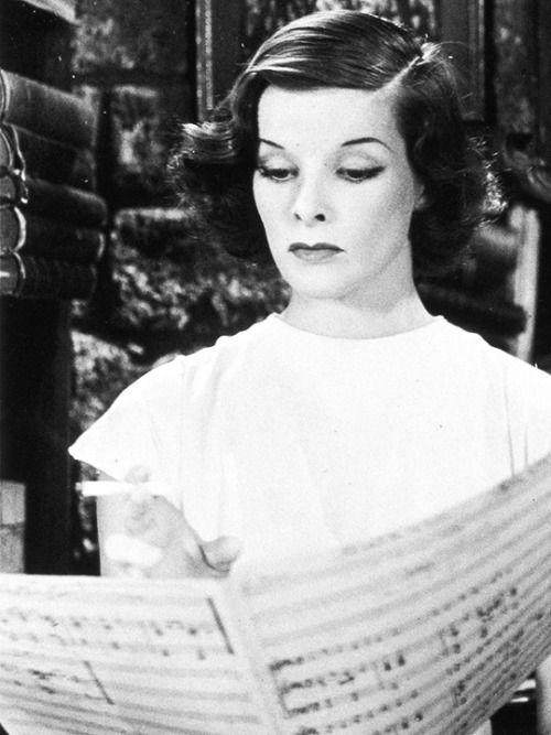 Katharine Hepburn in A Bill of Divorcement (1932)