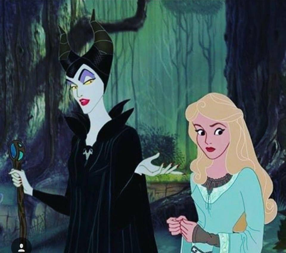 Maleficent And Aurora Disney S Sleeping Beauty 1959