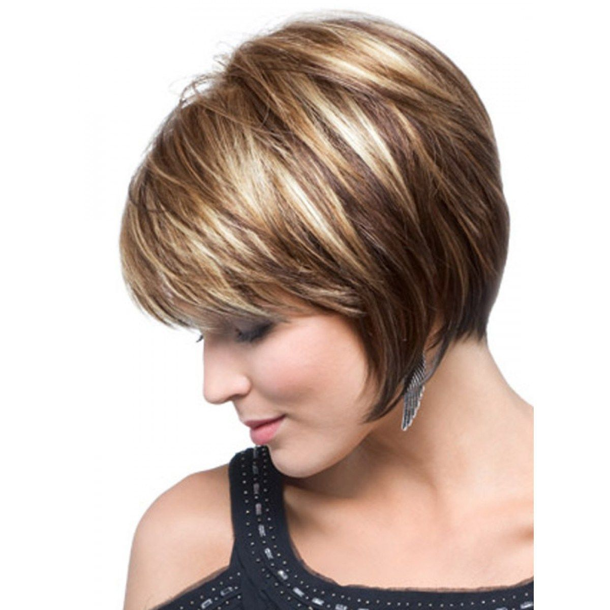 best short hairstyles for fine hair womenus hair pinterest