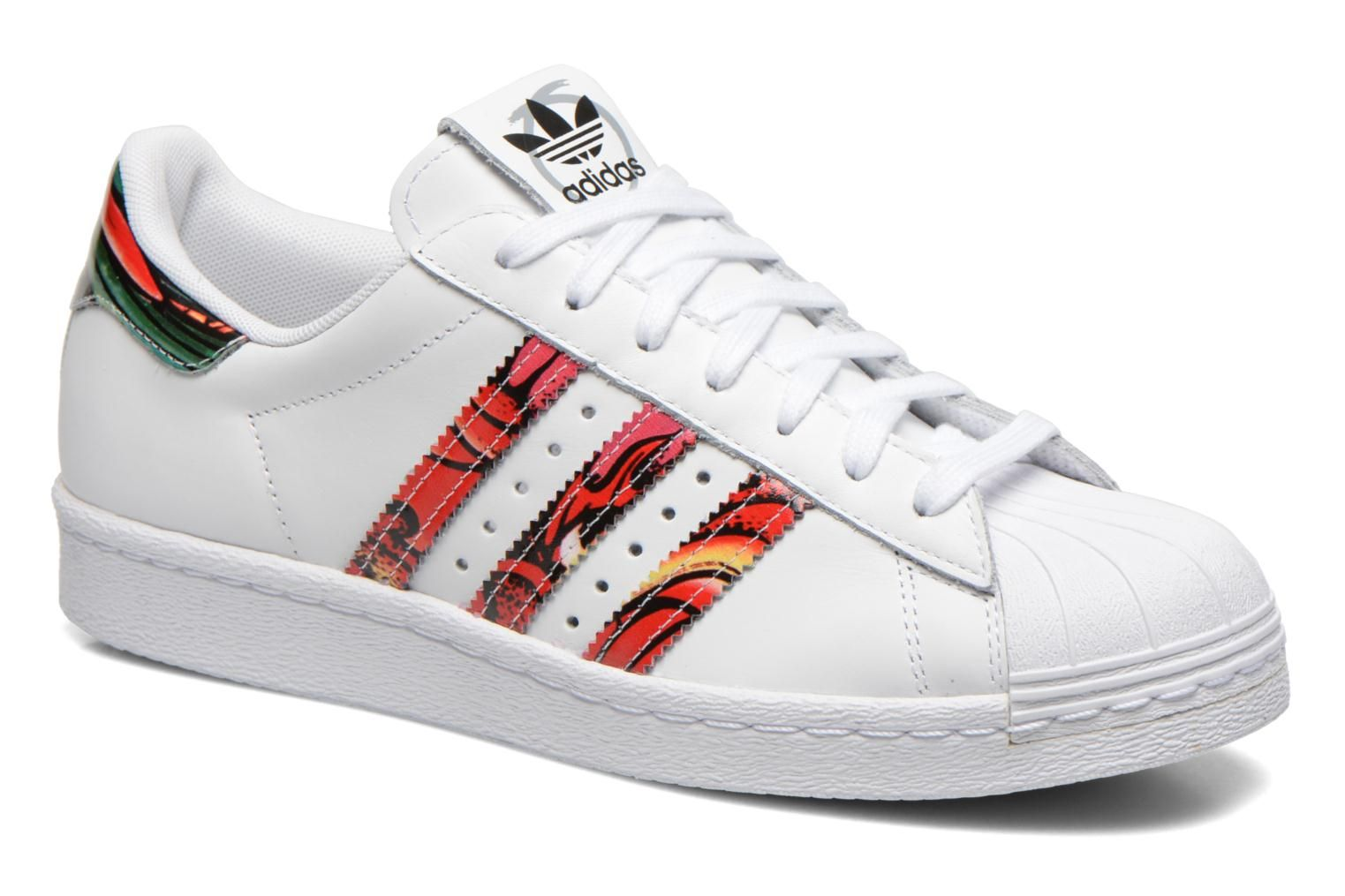 Adidas Originals Superstar 80S W Blanc | Chaussures | Basket