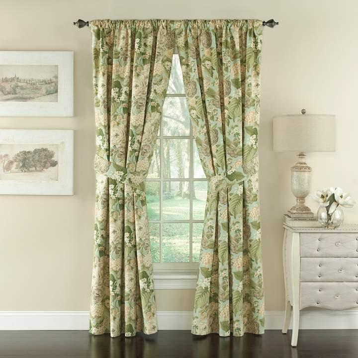 Waverly Garden Glory Window Curtain Set 50 X 84 Curtains Panel Curtains Floral Drapery
