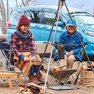 ロープと枝で自作キャンプサイトをつくろう ロープワークで遊び隊 こいしゆうかのキャンプde遊び隊 キャンプ キャンプ テーブル Diy キッチンテーブル