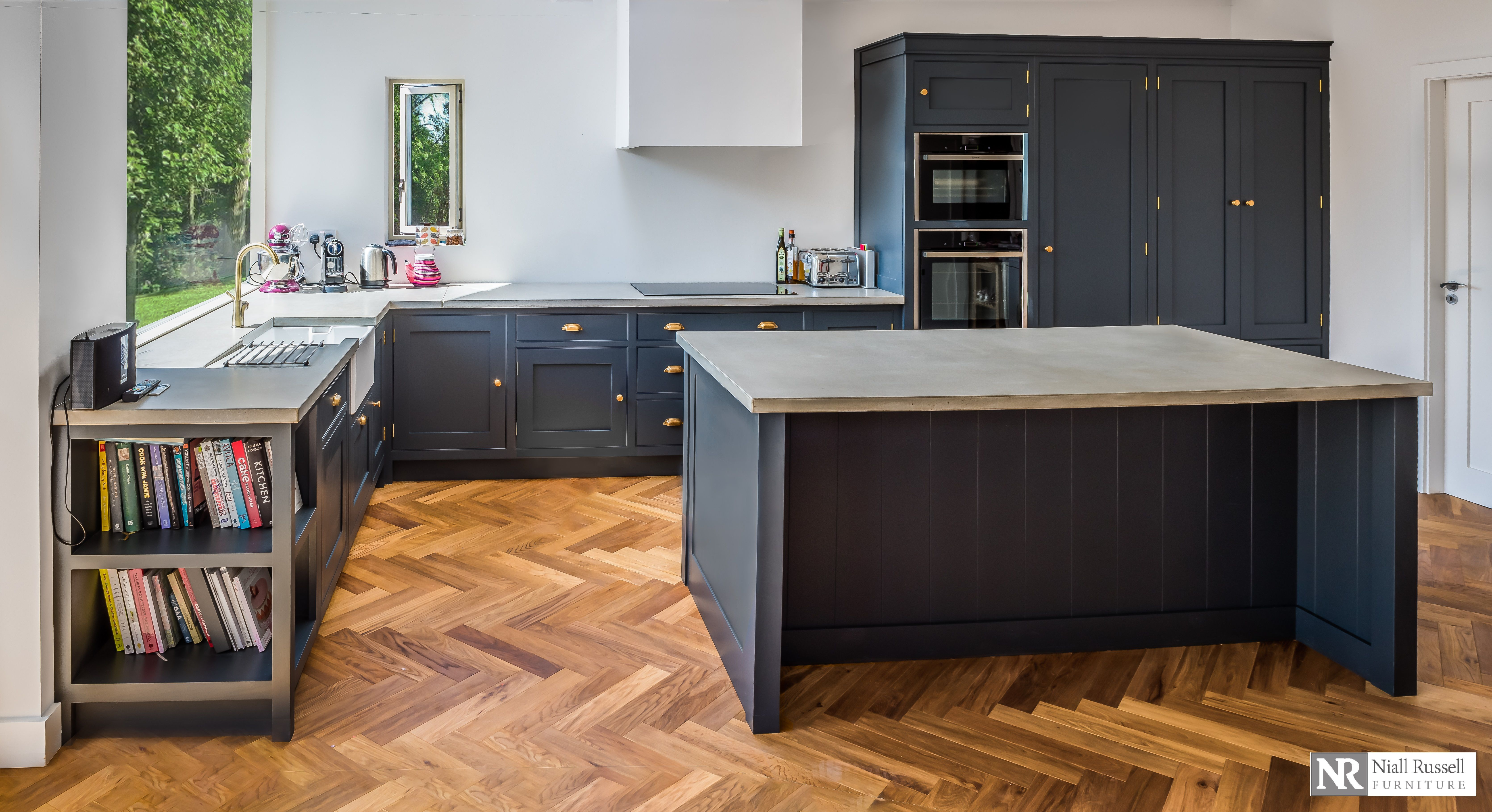 Niall Russell Furniture Inframe Kitchens And Bespoke Hand Painted