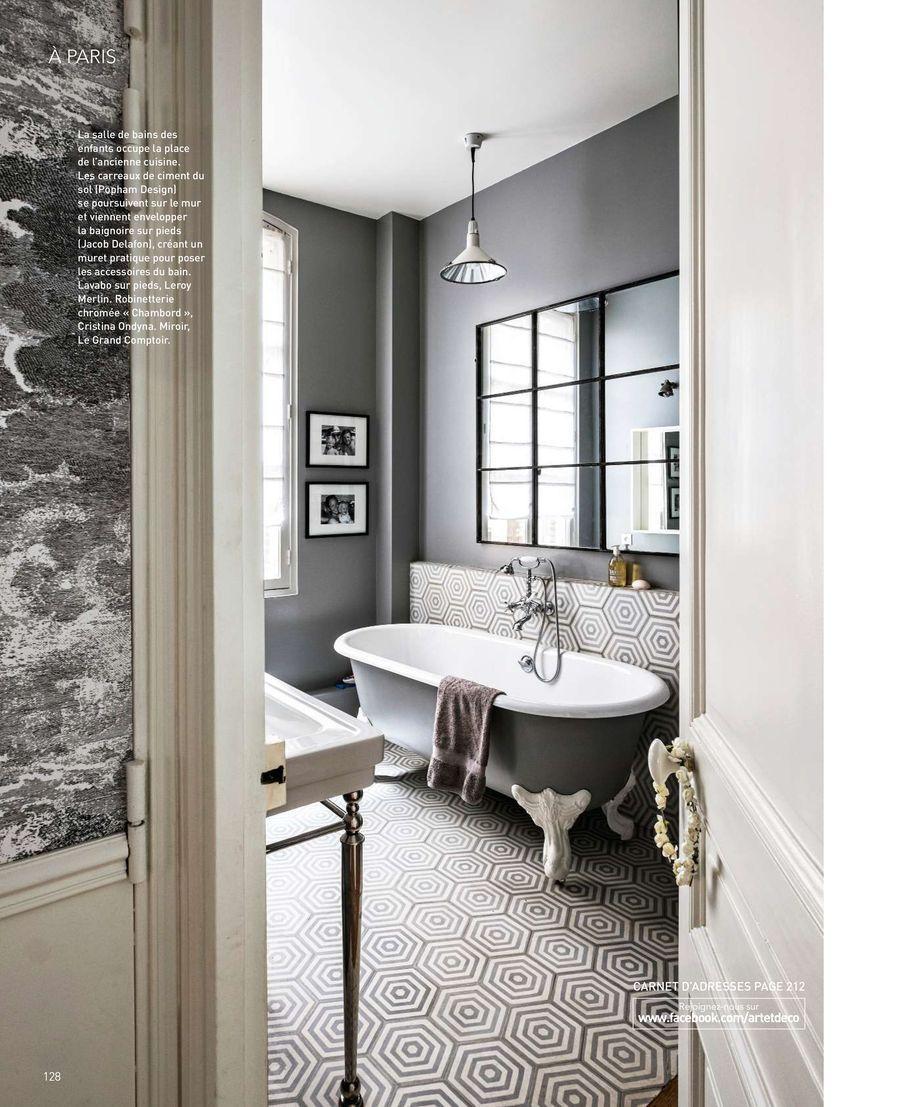 HEX TARGET Handmade cement tiles from Popham design Art & Decoration ...