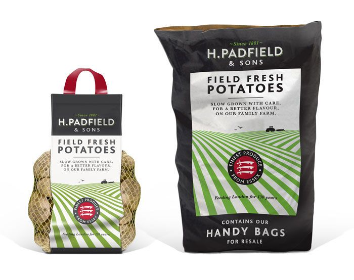 Fresh Potato Packaging : German potatoes