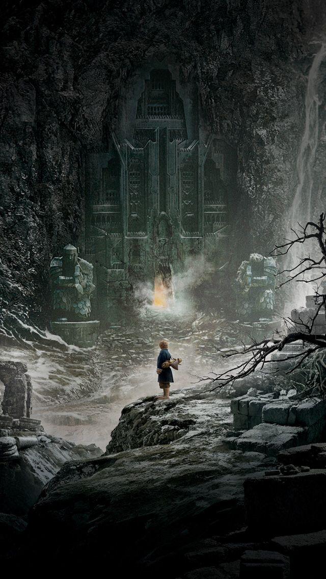 Bilbo Stands Before Erebor Mobile Wallpaper En 2019