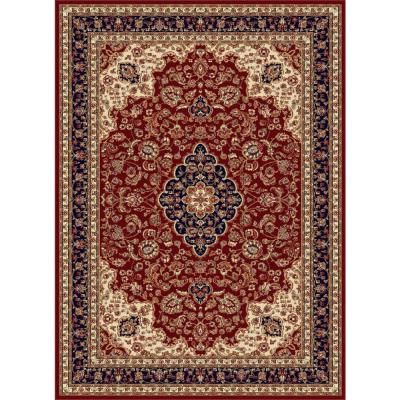 Tayse Rugs Sensation Red 8 Ft 9 In X 12 Ft 3 In Traditional