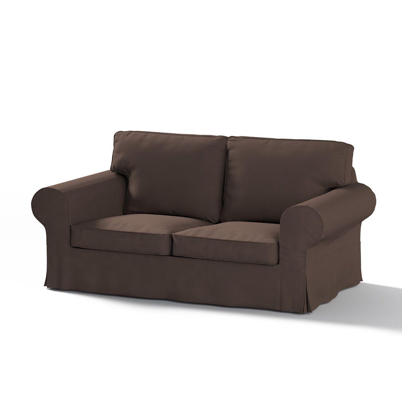 Dekoria Fire Ing Ikea Rp 2 Seater Sofa Cover Chocolate
