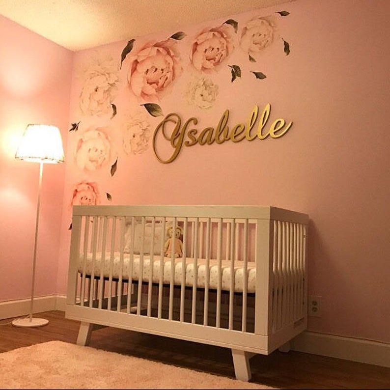 Baby Nursery Decor Wood Letters