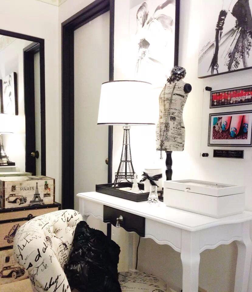 Audrey Hepburn/Parisian Room inspired room | Parisian room ...