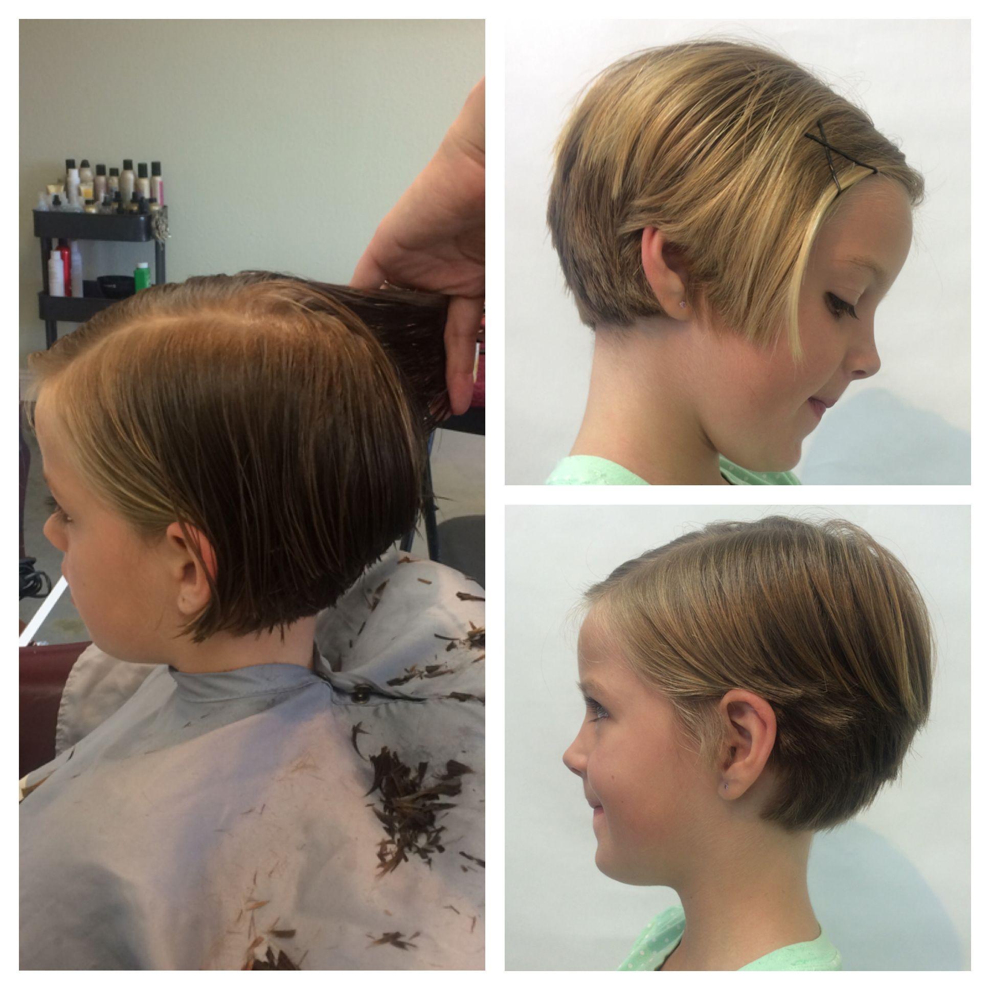 Child pixie hair cut girls pixie hairstyle cute short hair by nicole