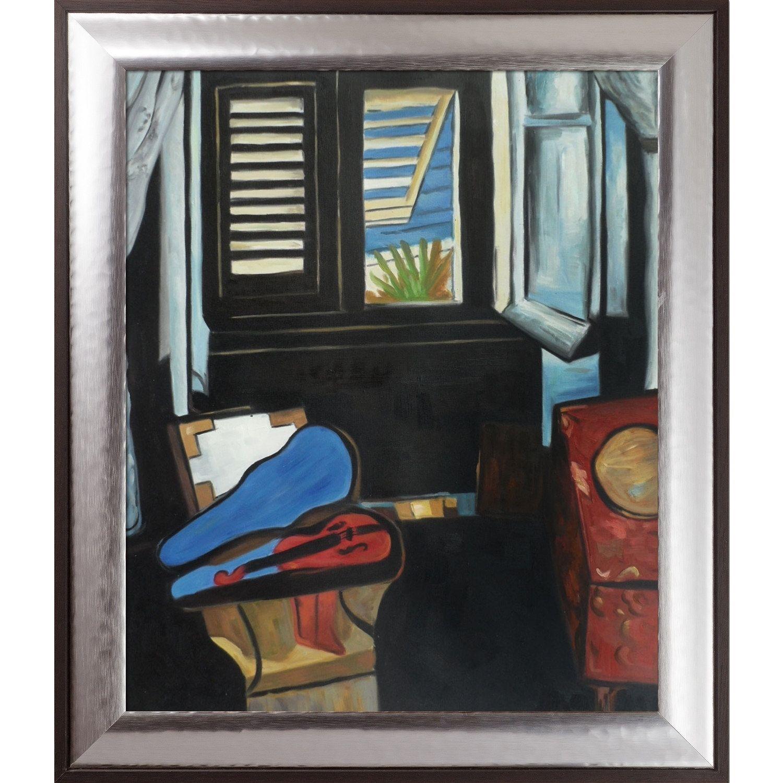 La Pastiche Henri Matisse \'Interior with a Violin\' Hand Painted Oil ...