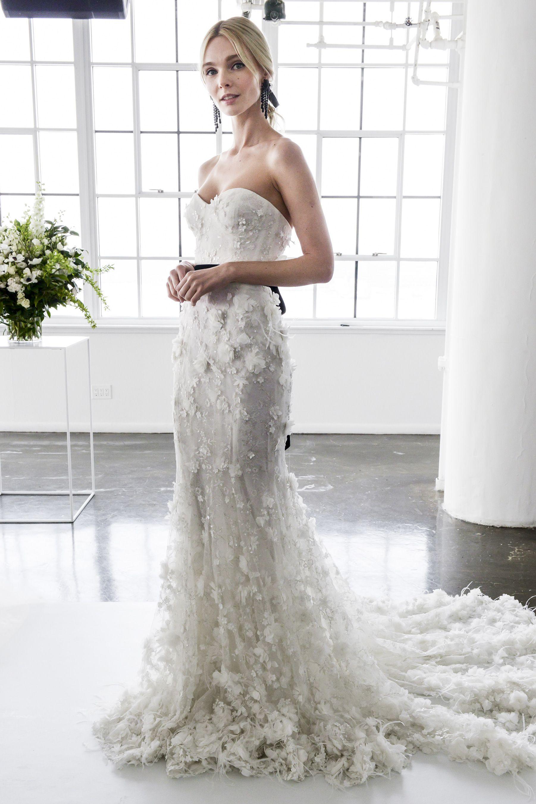 Marchesa spring bridal fashion show nyfw new york fashion