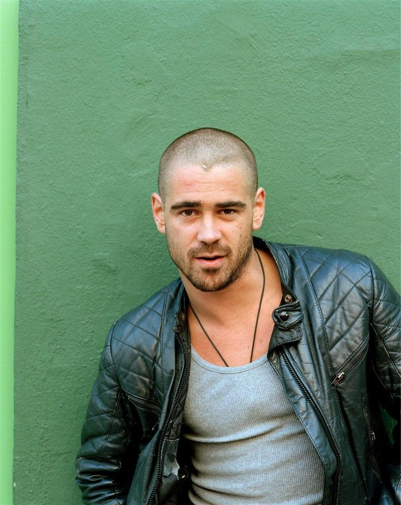 Colin Farrell I Don't Normally Like Men With Shaved Heads But For Colin I