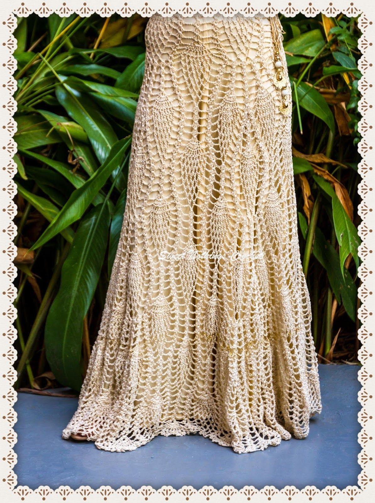 Sweet Nothings Crochet divine long ladies skirt | Crocheting ...