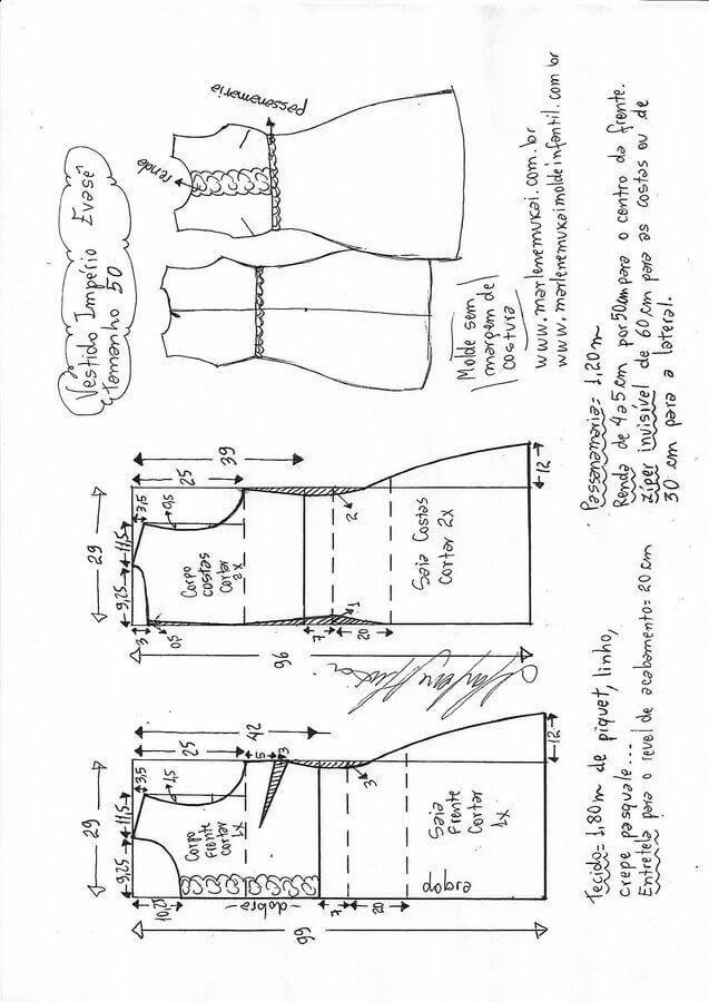 Vestido-imperio-evase-50.jpg (637×900)   Estilos de vestido ...