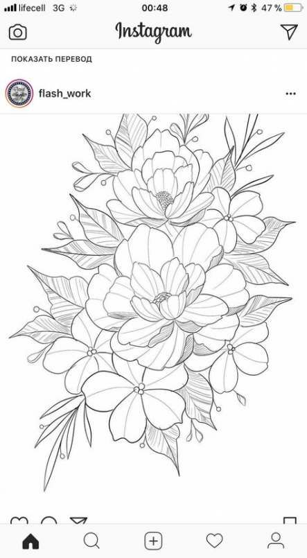 29 Ideas Drawing Flowers Realistic Coloring Pages Flower Drawing Outline Drawings Drawings