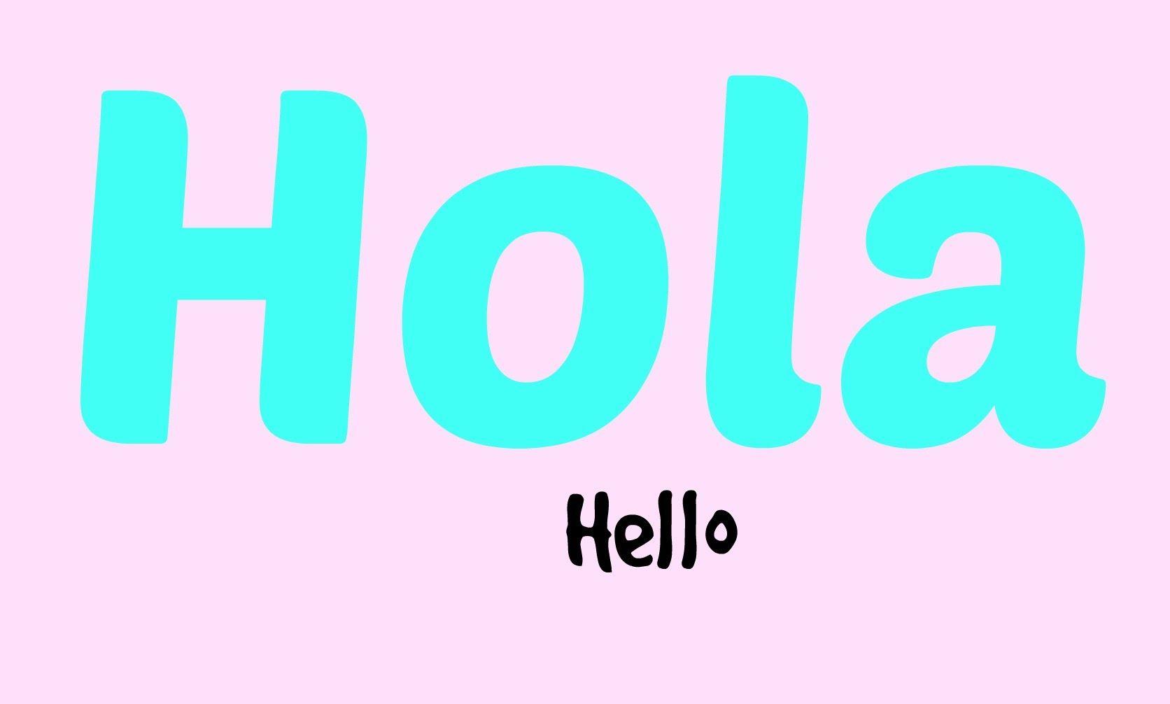 9 Ways To Say Hello In Spanish Hello In Spanish Say Hello In Spanish Ways To Say Hello
