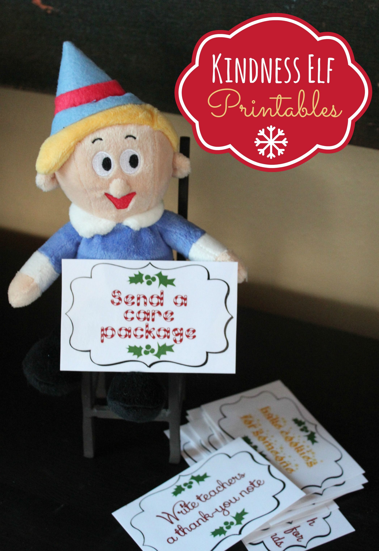 Kindness Elf Printables