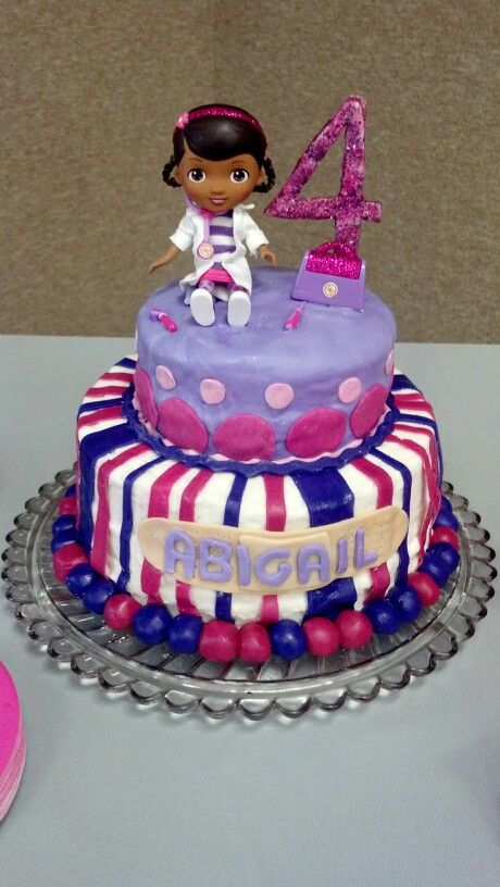 My little girls 4th birthday cake that my mother in law made