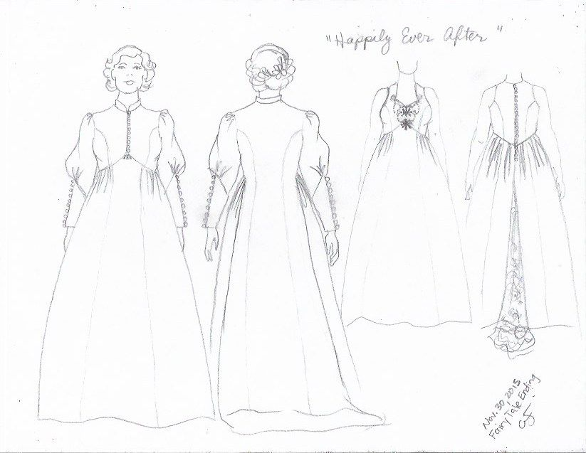 Happily Ever After wedding dress