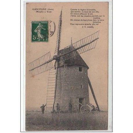 Épinglé par Eddie Zen sur a   Carte postale, Cartes postales anciennes, Le moulin