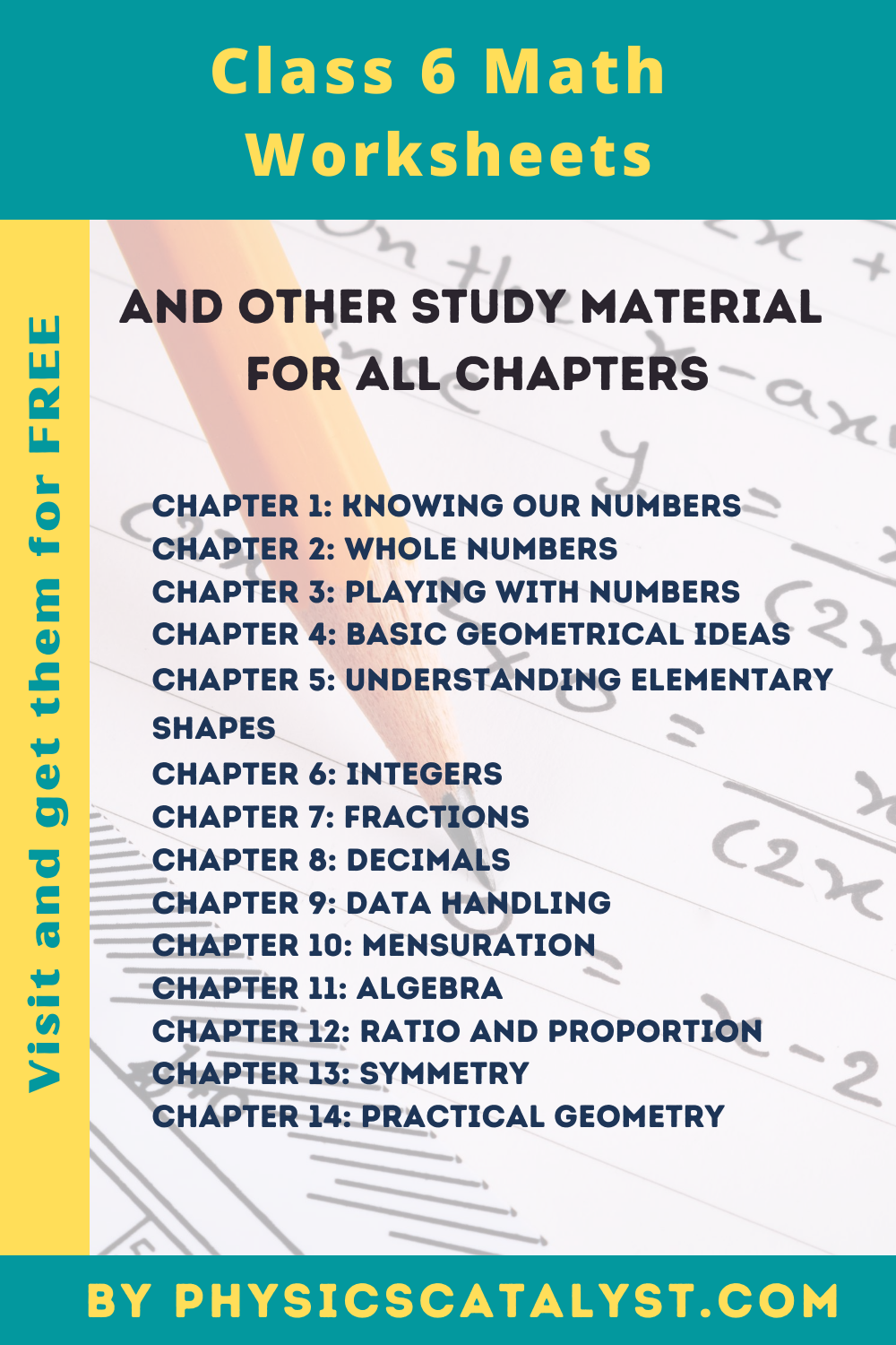 CBSE Class 6 Maths Worksheets and Question Papers in