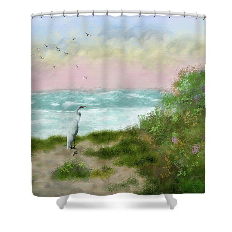 Cape Cod Beach Shower Curtain For Sale By Mary Timman Beach