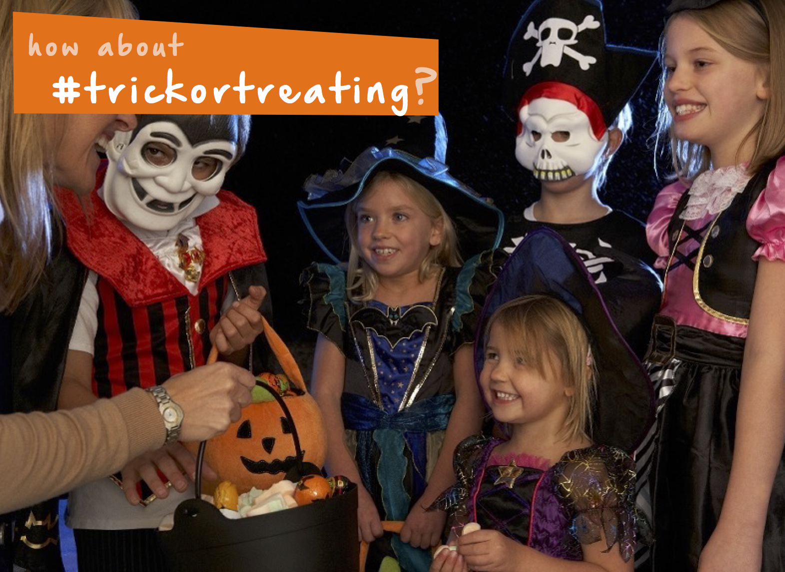 Have you tried trunkortreating? It's trickortreating