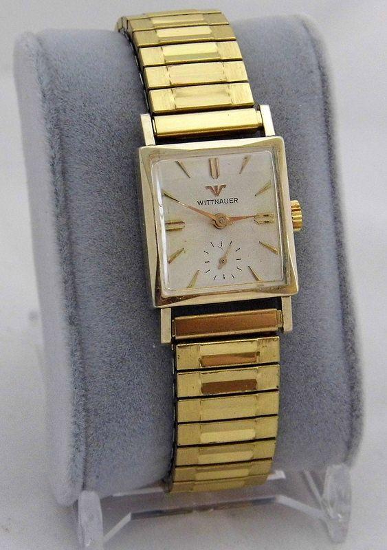 vintage wittnauer men s wrist watch manual wind 17 jewels rh pinterest com Wittnauer Watches Website Wittnauer Watch Values