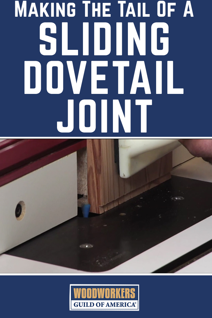 Making the tail of sliding dovetail joint router table making the tail of sliding dovetail joint keyboard keysfo Images