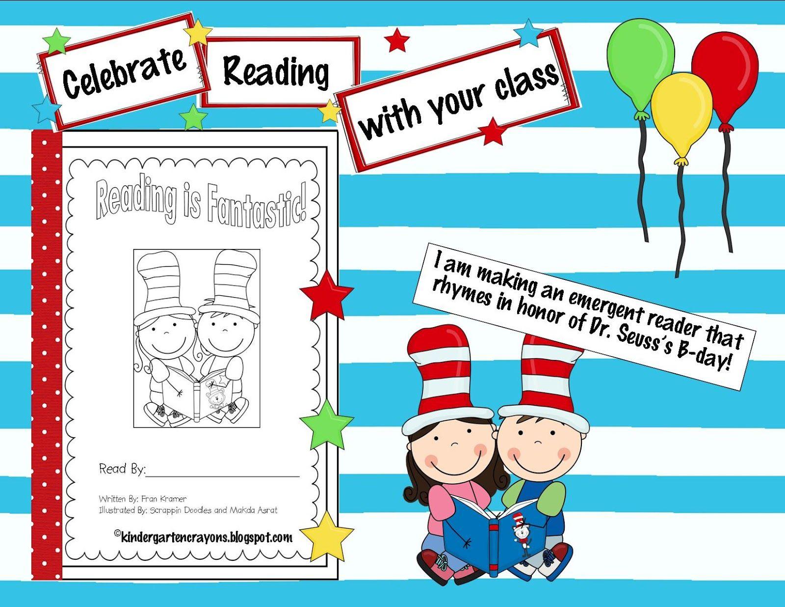 Kindergarten Crayons Another Birthday Celebration Birthday Card Template Kindergarten Crayons Dr Seuss Rhymes