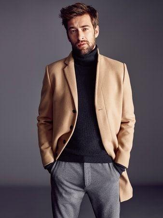 Mantel mit Reverskragen | FASHION ID Online Shop