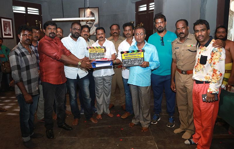 Vetaiyan Movie Pooja