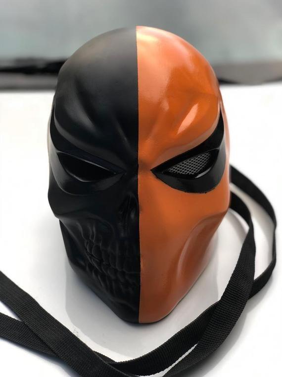 Mur/'K Merc Mask Deathstroke Terminator Slade Wilson Arrow Titans Batman Cosplay