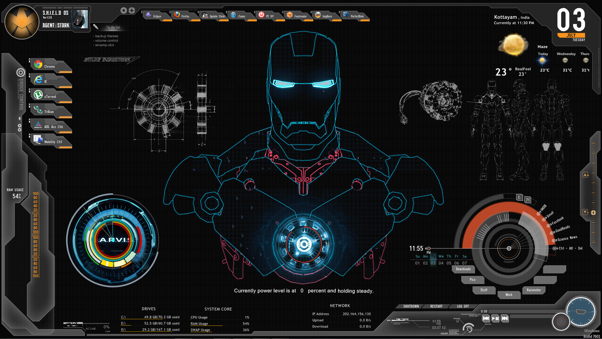 iron man ui - Google 検索
