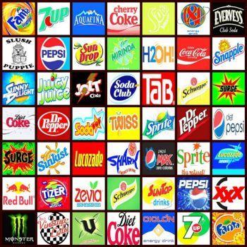 soft drink logos 169 pieces jigsaw puzzles i like