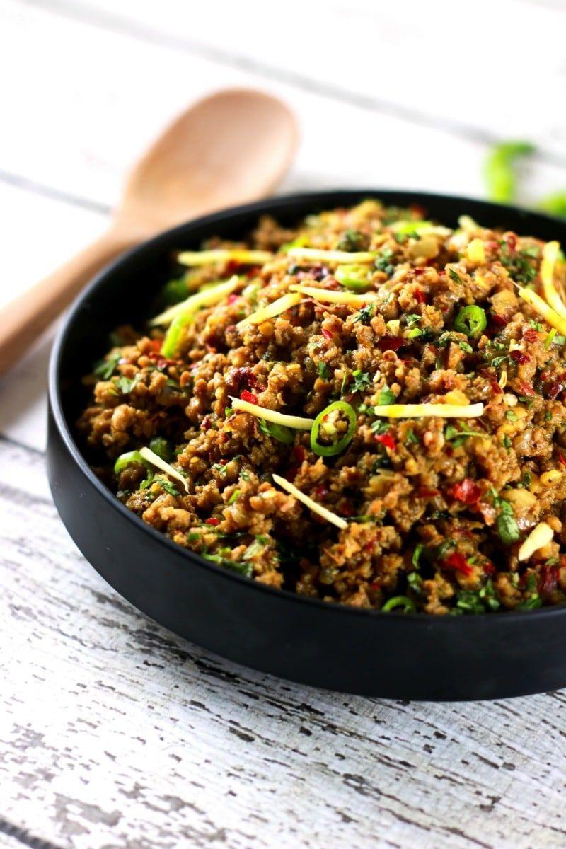 Authentic Indian Minced Meat Qeema Scrambled Chef Recipe Minced Beef Recipes Minced Meat Recipe Keema Recipes