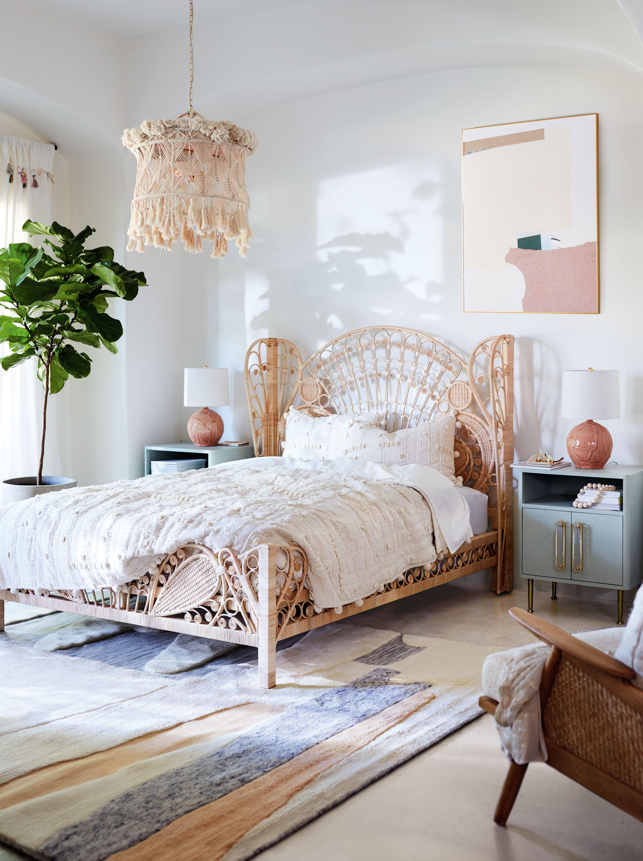 Kinsella Rattan Bed Romantic bedroom decor, Home decor