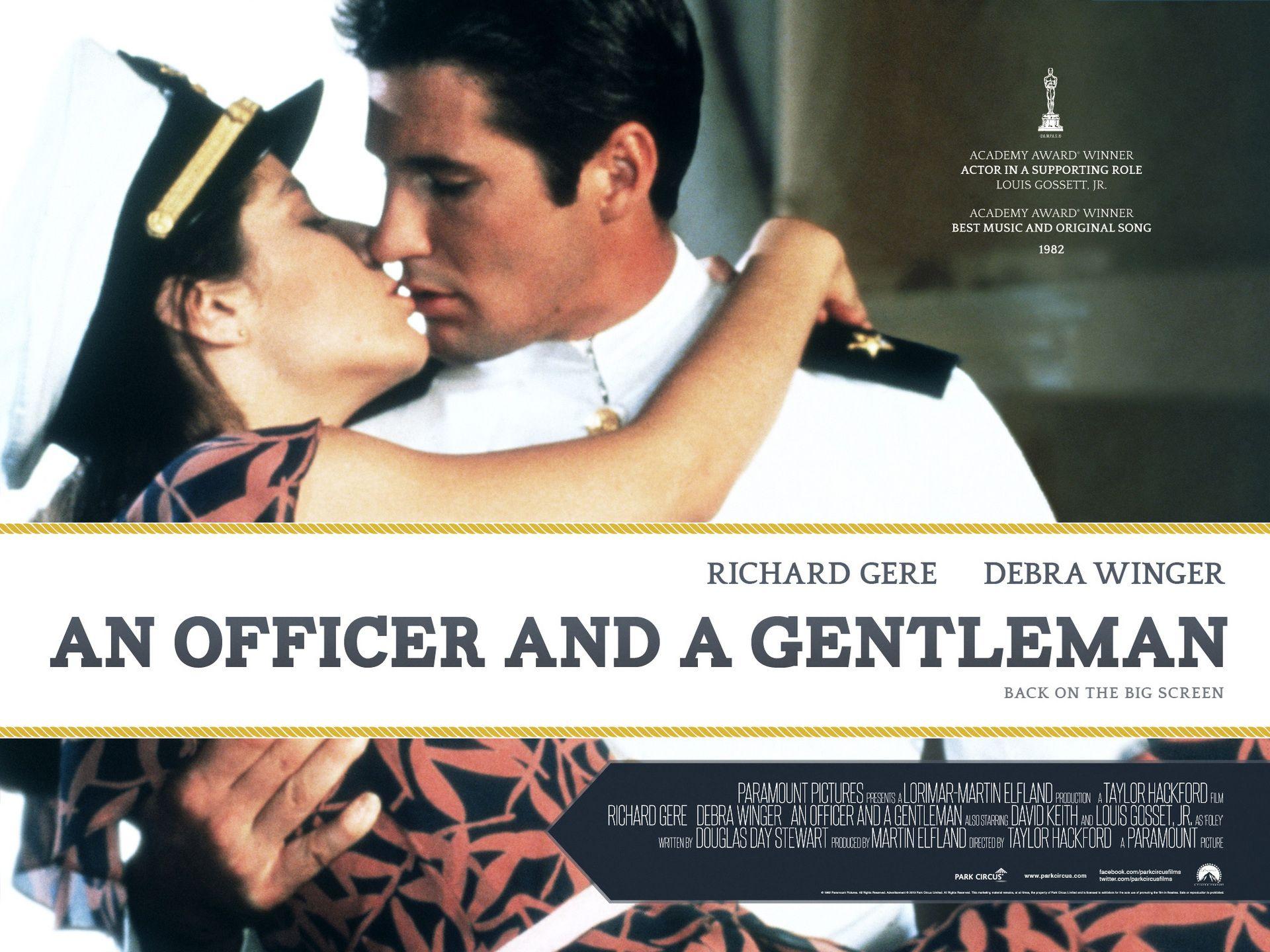 An Officer and a Gentleman An officer and a gentleman