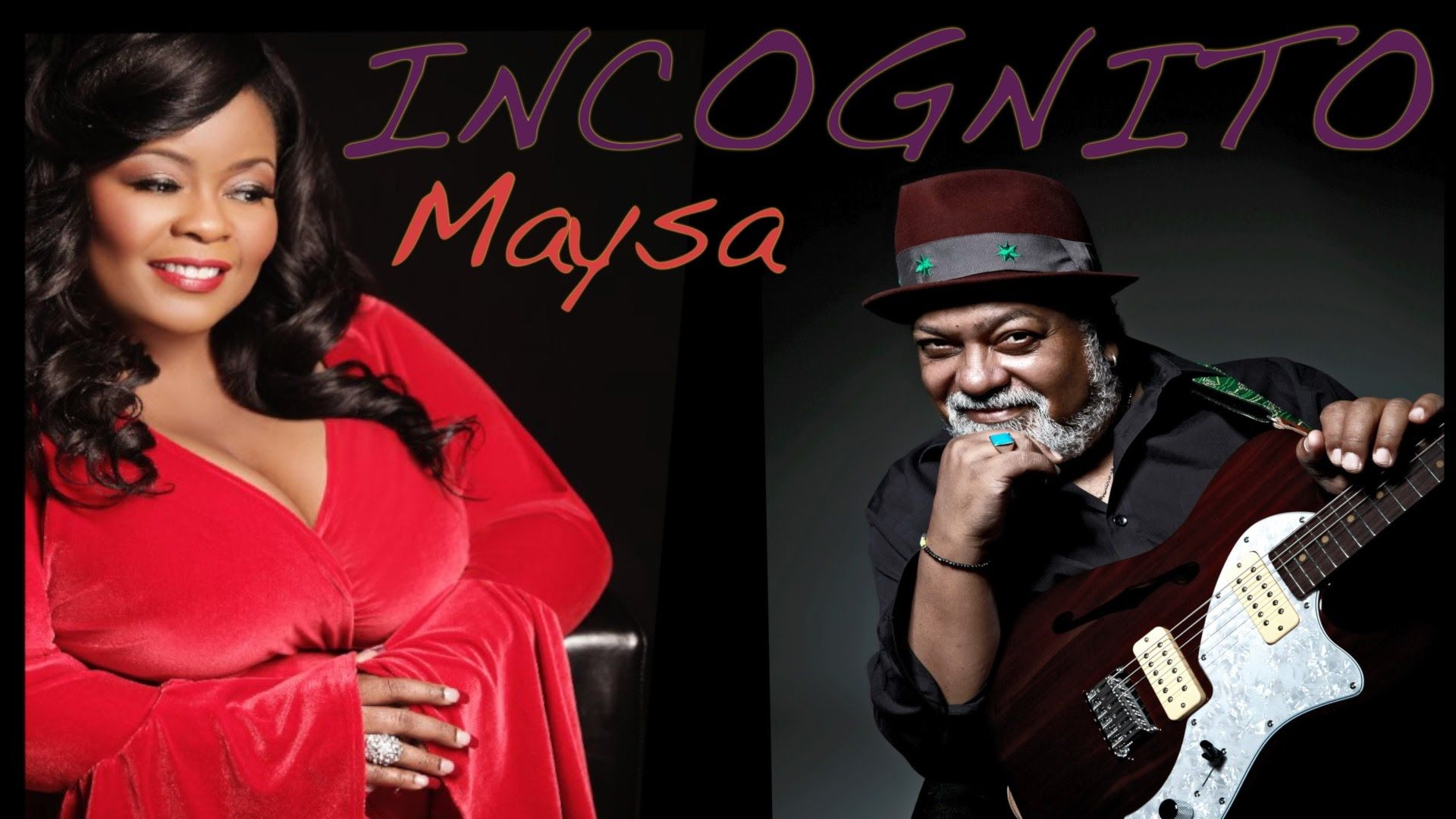 Incognito Feat Maysa All I Ever Wanted Lyric Video New Out In June Wanted Lyrics Video New Incognito