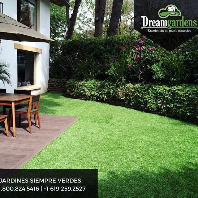 Ideas De Diseño De Jardines Residenciales: Tener Un #jardín En #casa Siempre #verde Y Sin Gastar En