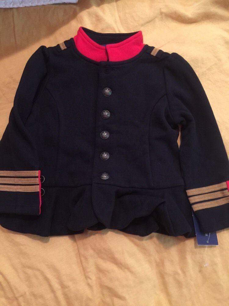 082bebea671d Ralph Lauren Military Officer Coat Jacket Girls 24 Month Very Hard to Find  RARE