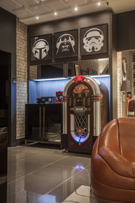 24 Amazing Creative Basement Room Design Ideas