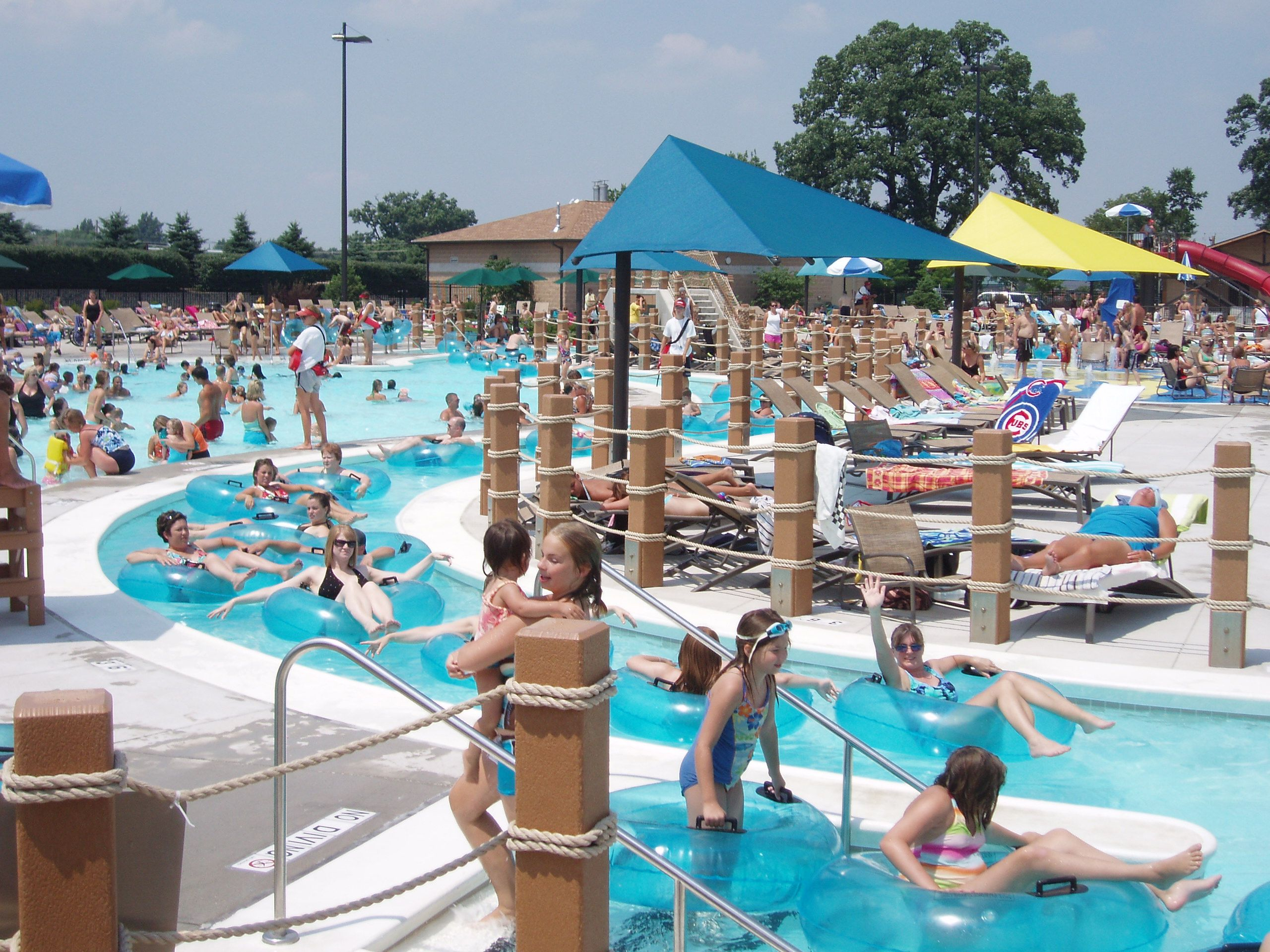 state farm pool guest policy  State Farm Park - the Lazy River | Places my face has seen ...