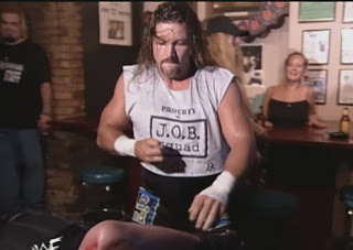 Wwe Wwf Summerslam 1999 Al Snow Beats Up Big Boss Man In A Bar Summerslam Wwf Shane Mcmahon