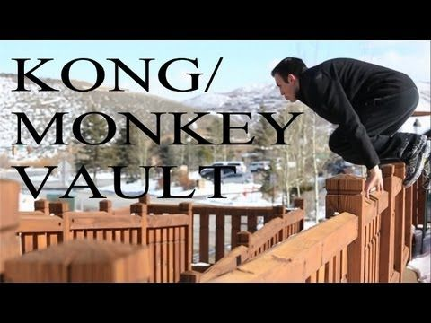 How to double kong vault how to parkour tutorial | parkour.
