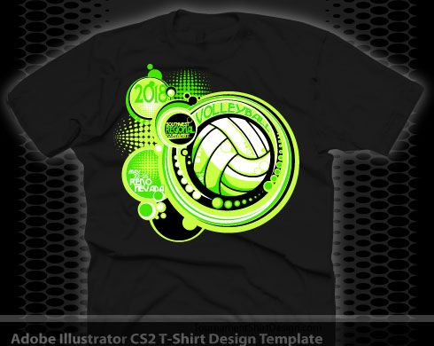 2fe202ef Volleyball Volleyball Team Shirts, Volleyball Shirt Designs, Volleyball  Tournaments, T Shirt Design Template